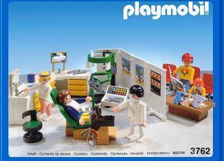 Playmobil - 3762 - Dentist's Office