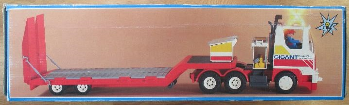 Playmobil 3935v1 - Driver / semi-trailer - Box