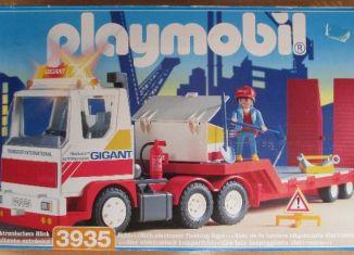 Playmobil - 3935v1 - Driver / semi-trailer