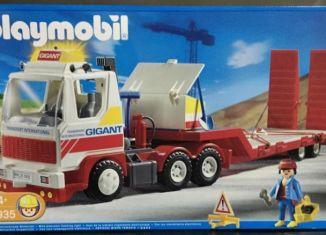 Playmobil - 3935v2 - Driver / semi-trailer