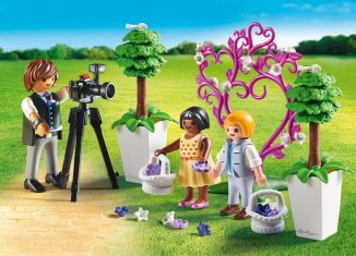 Playmobil - 9230 - Photographer with children