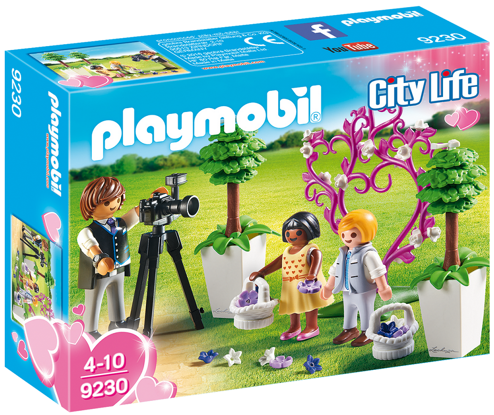 Playmobil 9230 - Photographer with children - Box