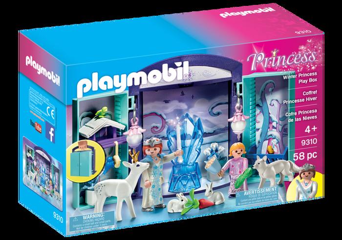 Playmobil 9310 - Winter Princess Play Box - Box