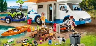 Playmobil - 9318-usa - Camping Adventure