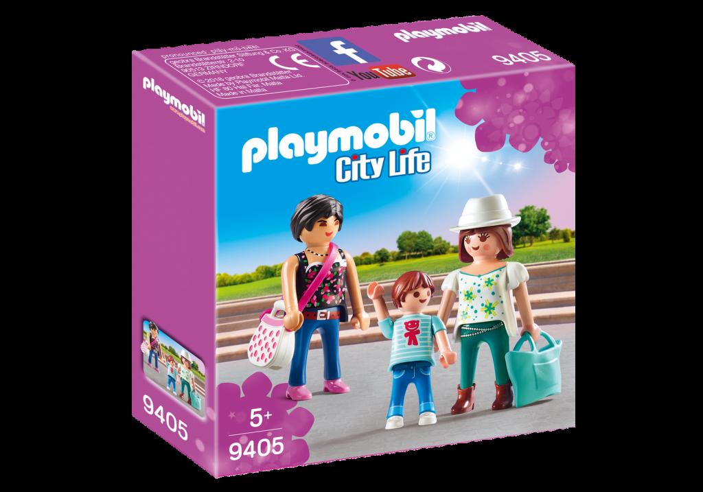 Playmobil 9405 - Shopping Girls - Box
