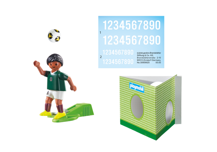 Playmobil 9515 - National Team Player Mexico - Back