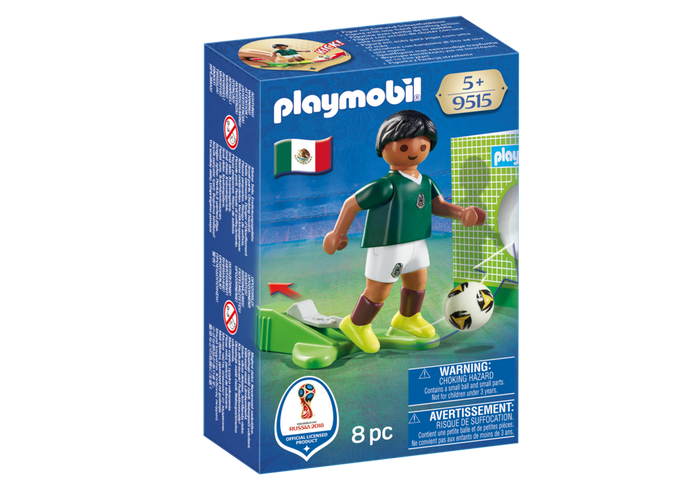 Playmobil 9515 - National Team Player Mexico - Box