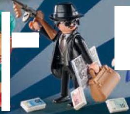 Playmobil - 9443v2 - Gangster
