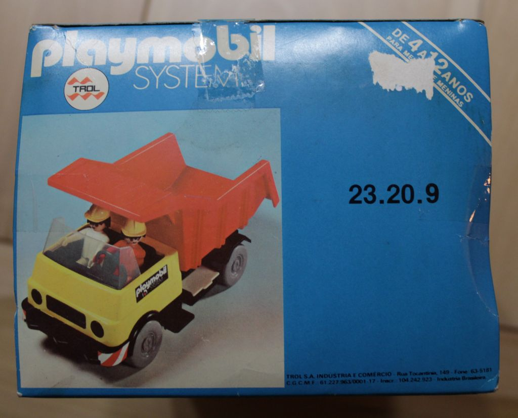 Playmobil 23.20.9-trol - Dump Truck - Box