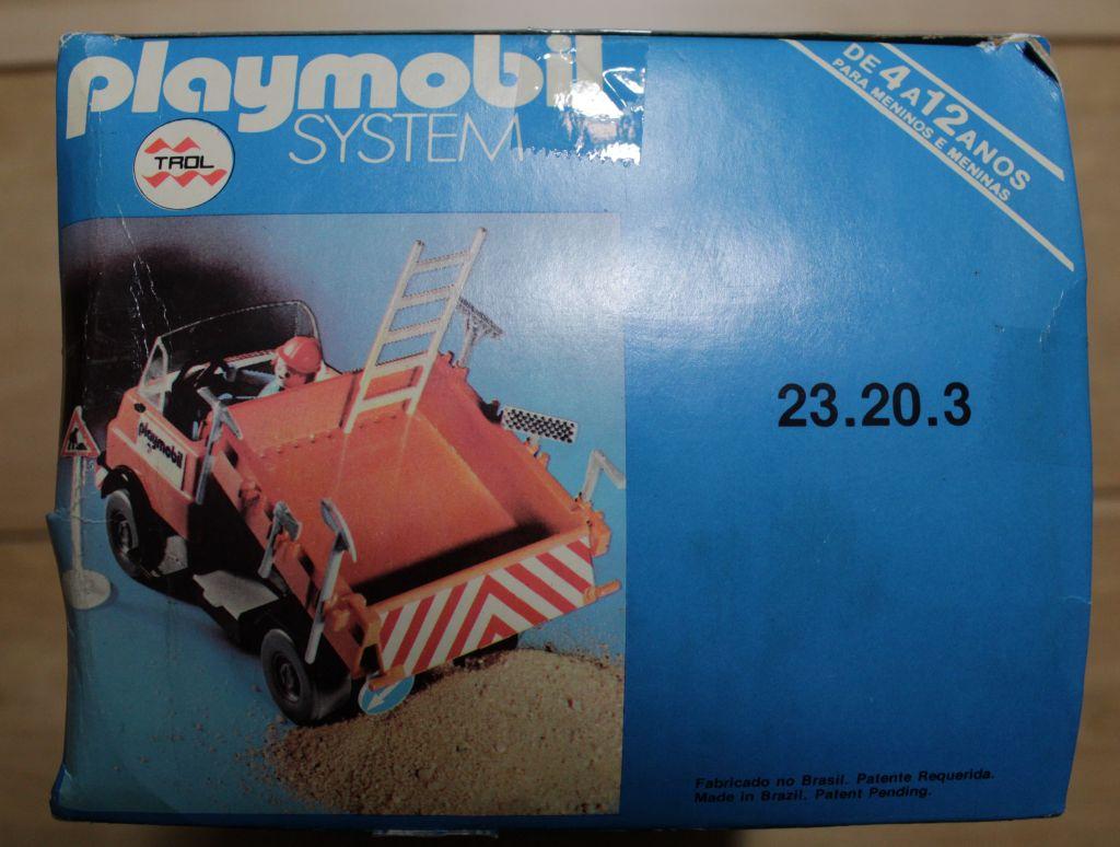 Playmobil 23.20.3-trol - Construction Truck - Box
