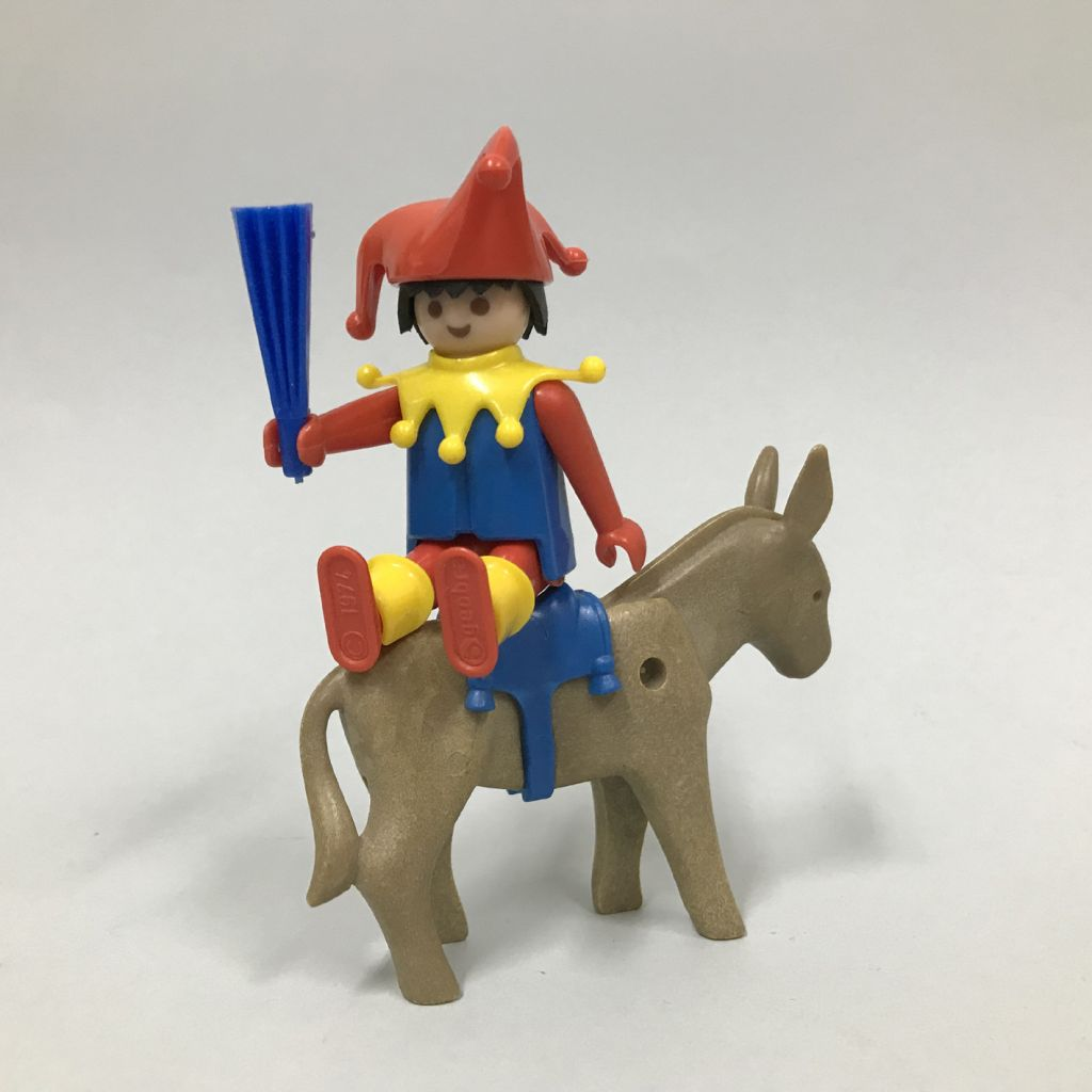 Playmobil 3330 - Jester and Donkey - Back