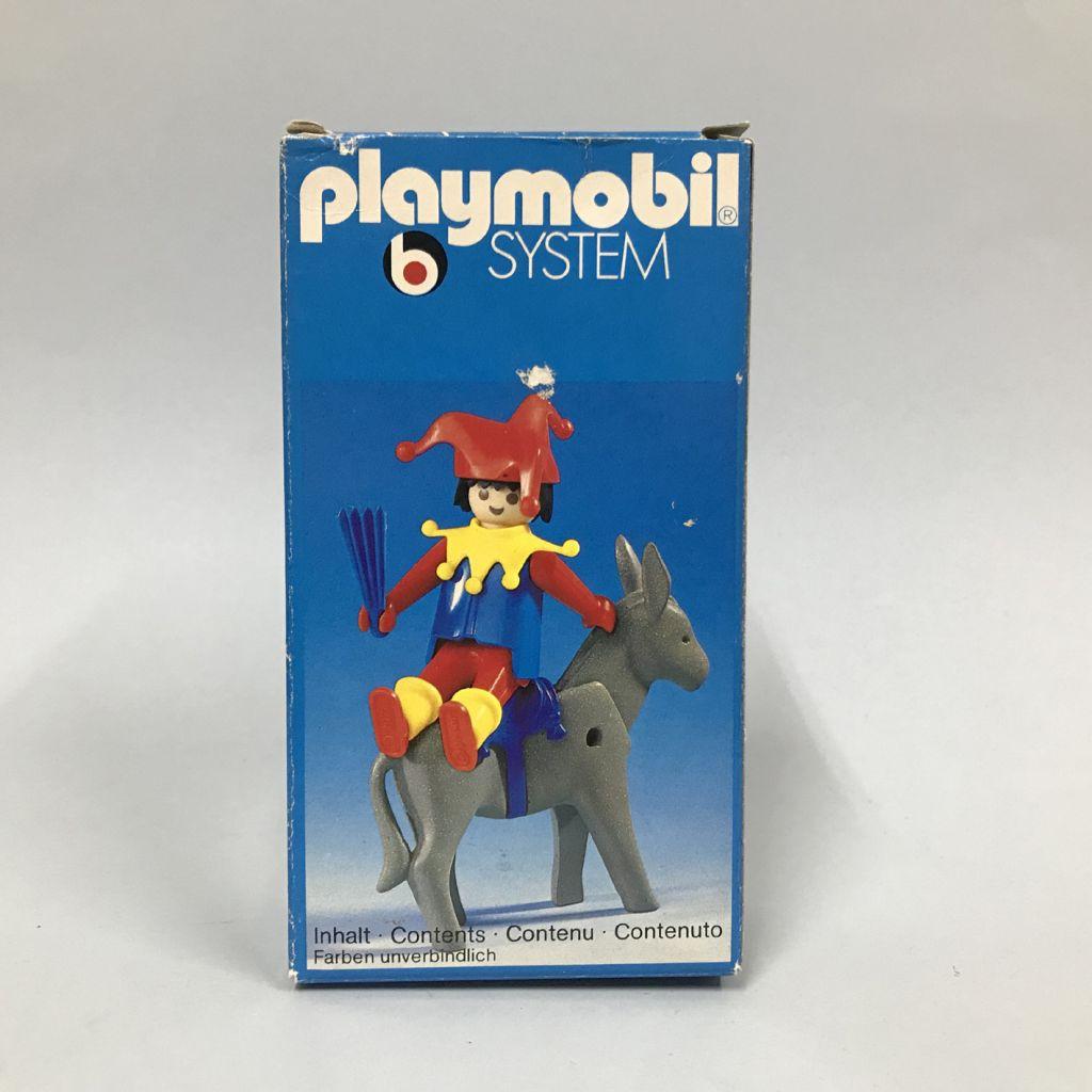 Playmobil 3330 - Jester and Donkey - Box