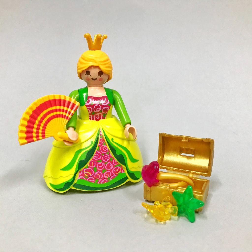 Playmobil 0000-ger - Nüremberg Toy Fair Give-away Princess - Back