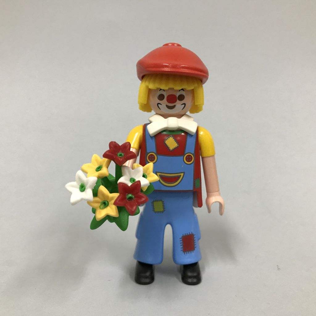 Playmobil 0000-ger - Nüremberg Toy Fair Give-away Clown - Back