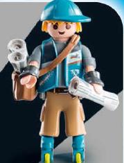 Playmobil - 9332v1 - Paperboy