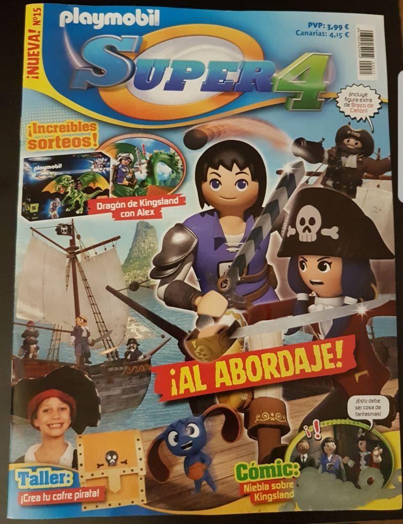 Playmobil 30790334-esp - Pirate Canoonharm - Back