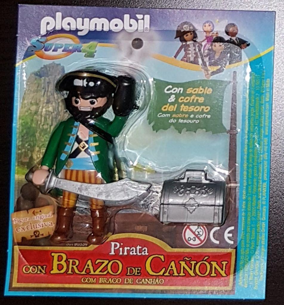 Playmobil 30790334-esp - Pirate Canoonharm - Box