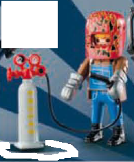 Playmobil - 9443v12 - Welder