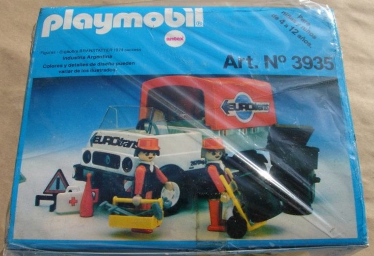 Playmobil 3935-ant - Moving Truck - Box