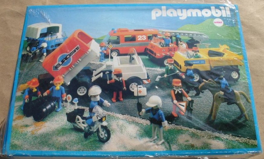 Playmobil 3935-ant - Moving Truck - Back