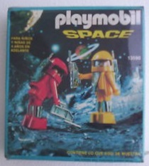 Playmobil - 13590-aur - 2 astronauts
