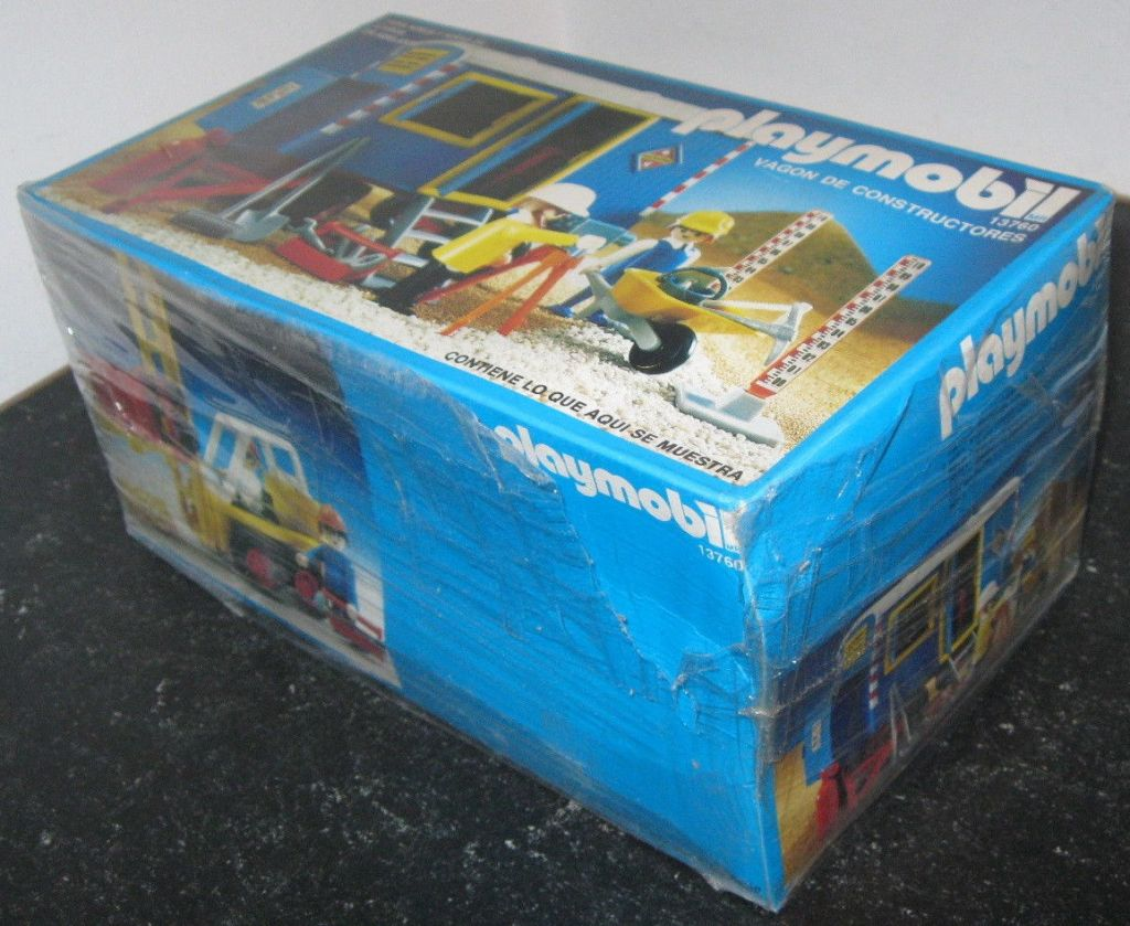 Playmobil 13760-aur - Construction Trailer - Box
