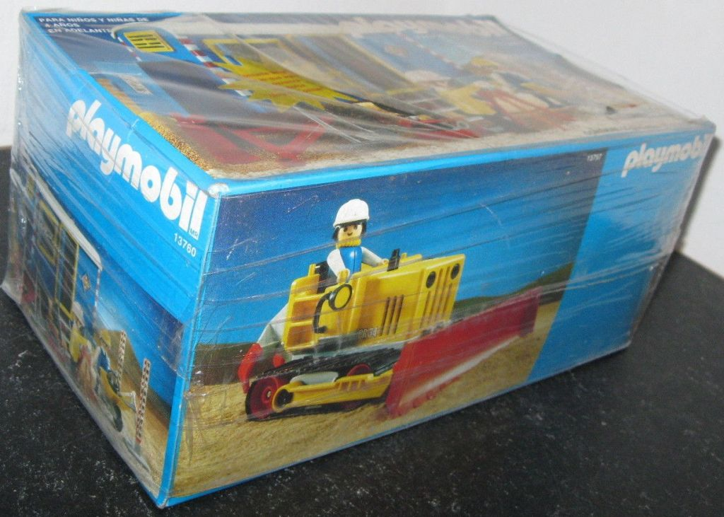 Playmobil 13760-aur - Construction Trailer - Back