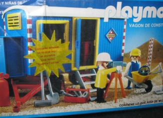 Playmobil - 13760-aur - Construction Trailer