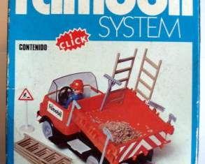 Playmobil - 3203v2-fam - Construction truck