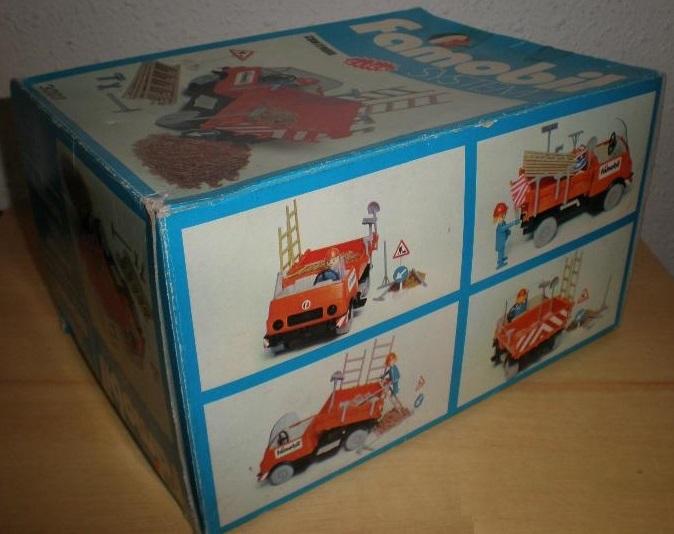 Playmobil 3203v2-fam - Construction truck - Back