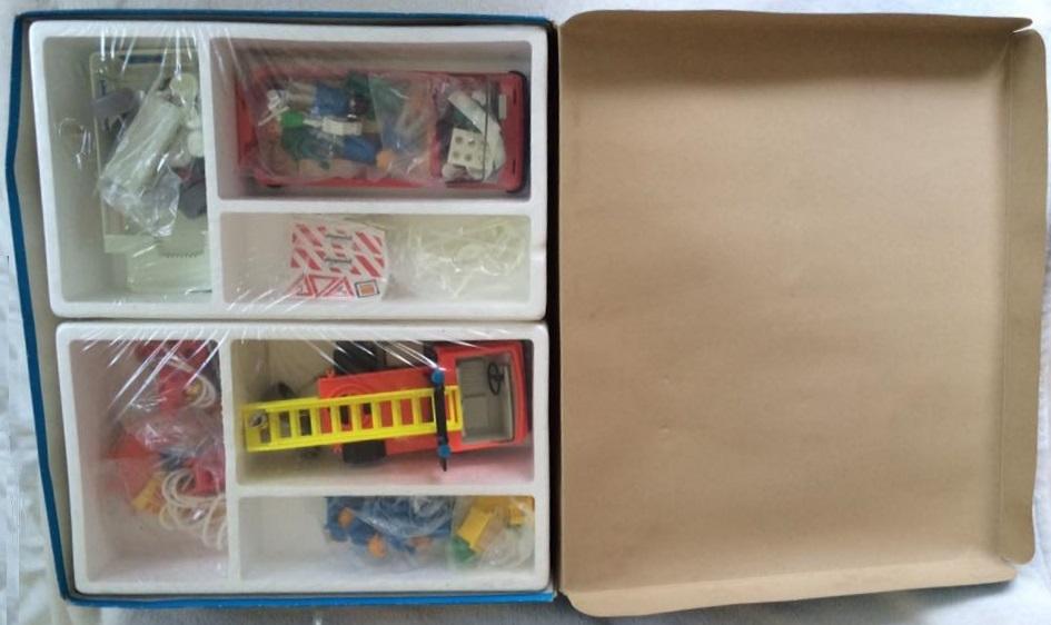 Playmobil 9950-ger - Rescue Super Set - Back
