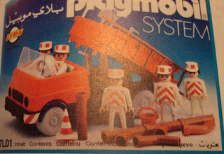 Playmobil - 7L01-lyr - Construction truck