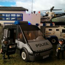Playmobil - Furgon Policial 6043