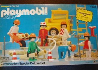 Playmobil - 1203 - Construction Special Deluxe Set