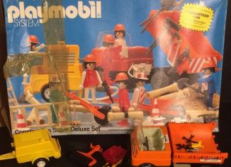 Playmobil - 1204v2-sch - Construction Super Deluxe Set