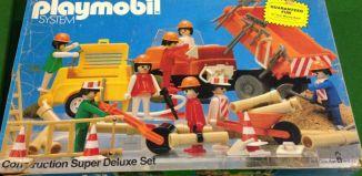 Playmobil - 1204v1-sch - Construction Super Deluxe Set