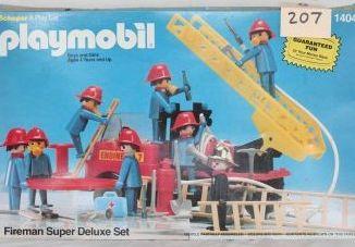 Playmobil - 1404v2-sch - Fireman Super Deluxe Set