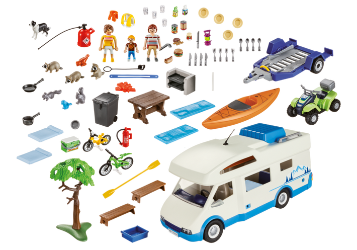 Playmobil 9318-usa - Camping Adventure - Back