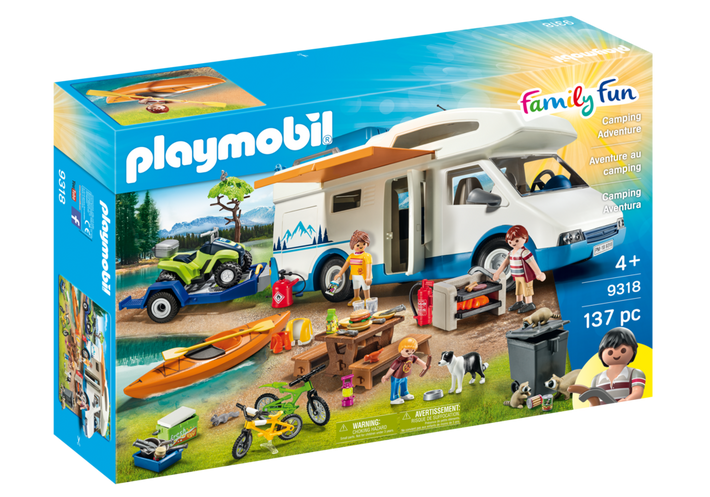 Playmobil 9318-usa - Camping Adventure - Box