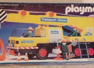 Playmobil - 13527-xat - Transport-Union crane truck