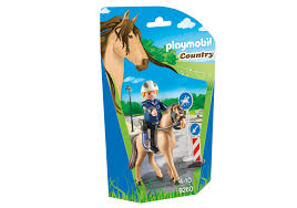 Playmobil 9260 - Mounted policeman - Box