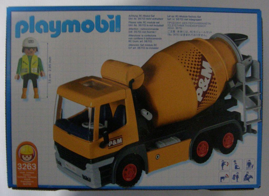 Playmobil 3263s2 - Cement Mixer - Box