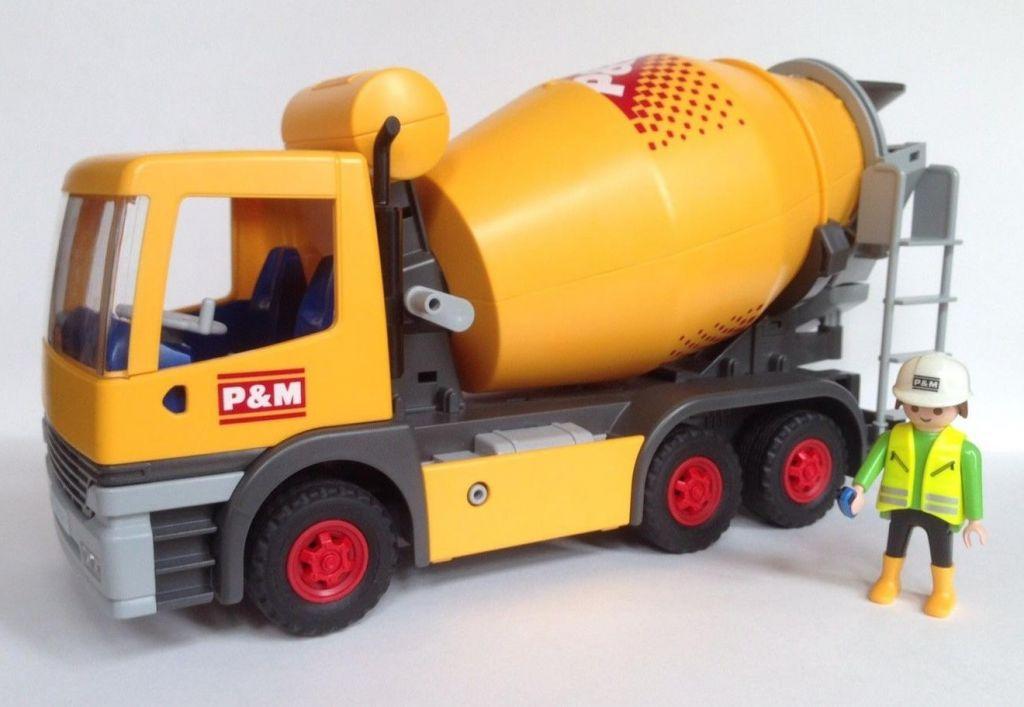 Playmobil 3263s2 - Cement Mixer - Back