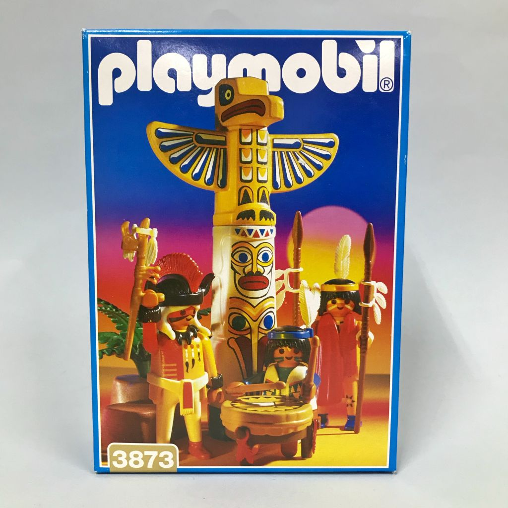 Playmobil 3873 - Totempole Warriors - Box