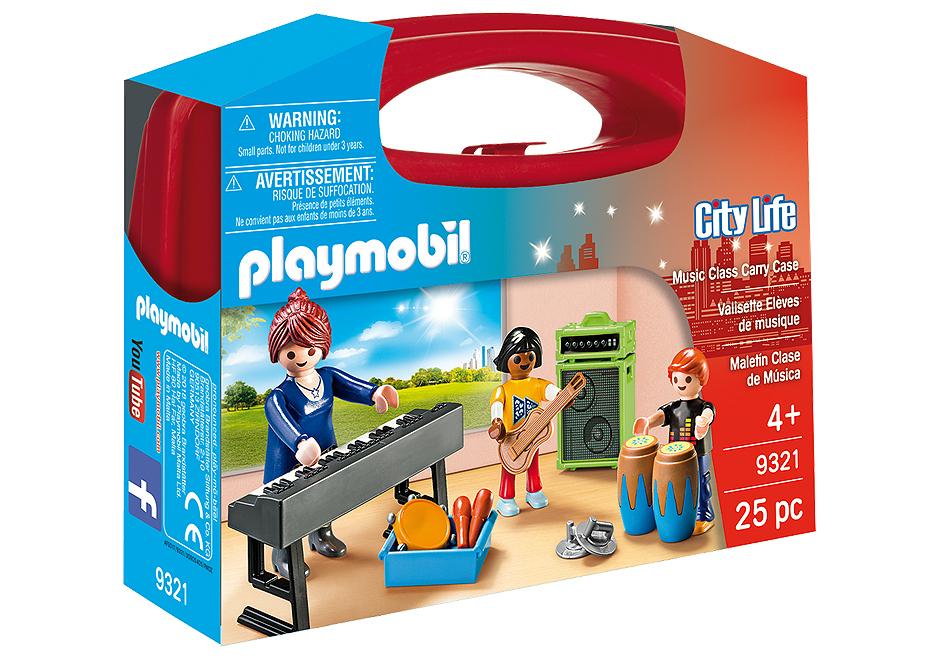 Playmobil 9321 - Music Class Carry Case - Box