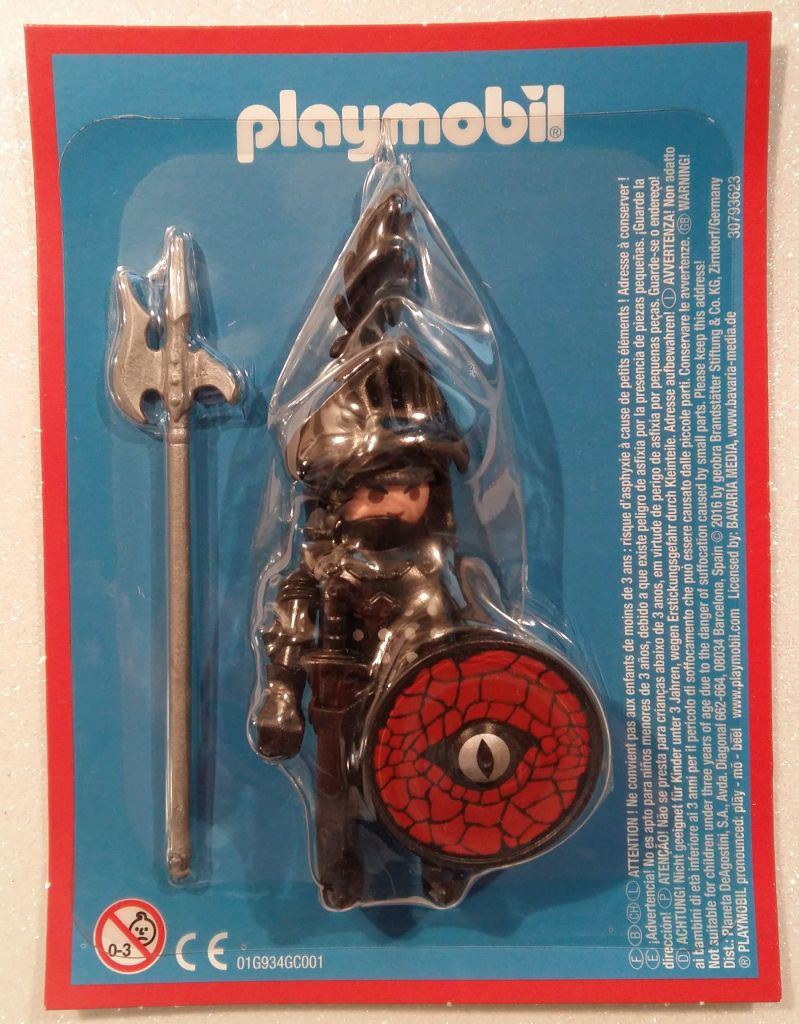 Playmobil LADLH-18 - Black Knight - Back