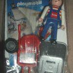 Playmobil 0000-ger - Empleado de mantenimiento BVG (Tram, 2008) - Caja