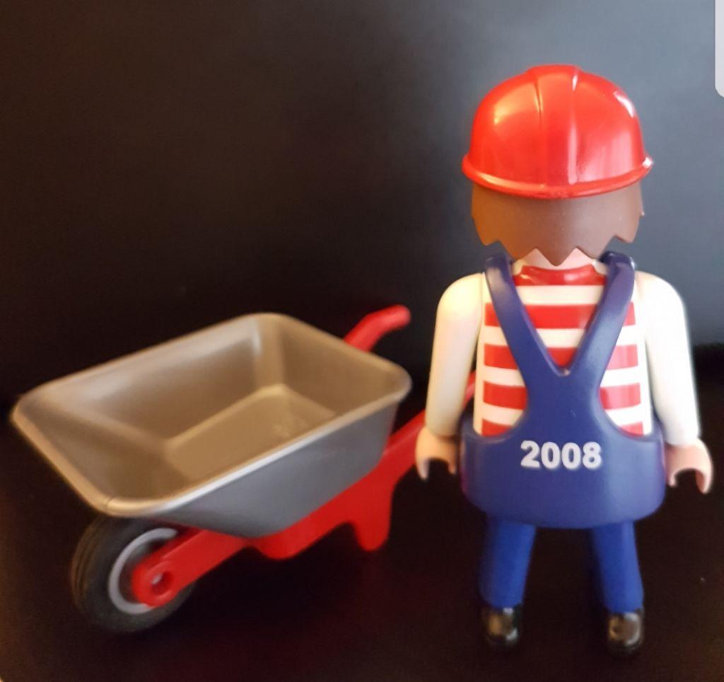 Playmobil 0000-ger - Employé de maintenance BVG (Tram, 2008 ) - Précédent