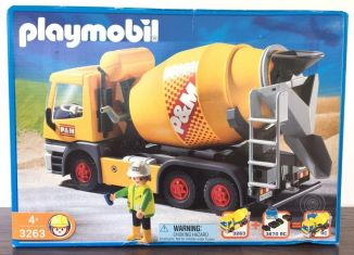 Playmobil - 3263-usa - Cement Mixer