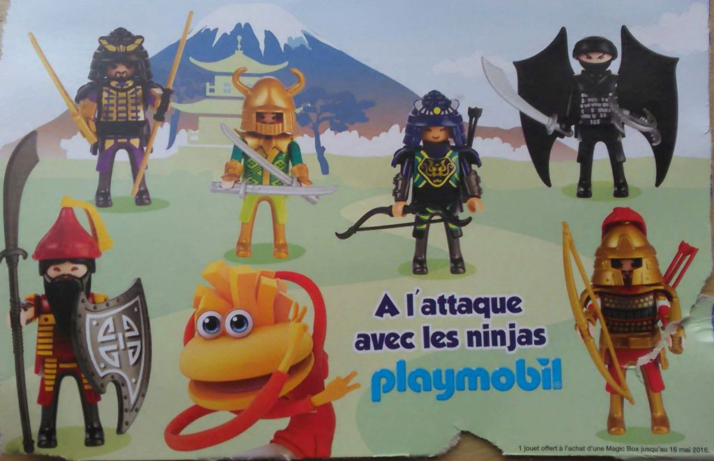 Playmobil 0000-fra - Quick Magic Box Asian Warriors Set - Box